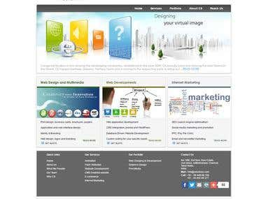 Static website with contact us page - cstudioss