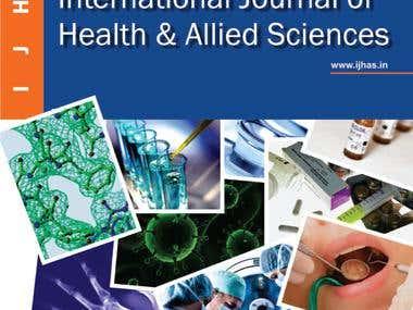 Leaflet & Book Cover Design for Medical University