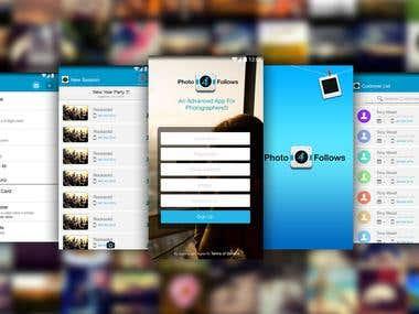 Photo Follow App