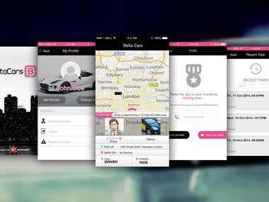 Belta Cars App