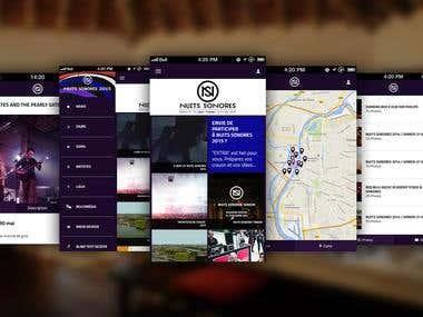 Nuits Sunores App