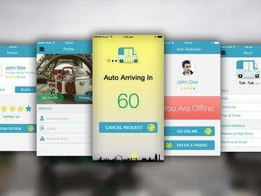 Tuk-Tuk Auto App