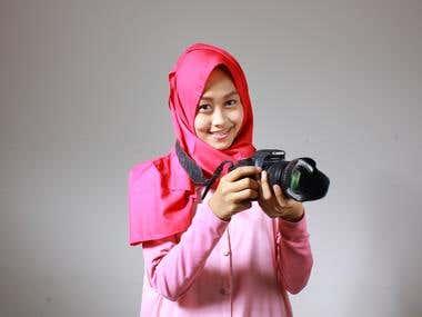 Hijab's Product & Model Photoshoot