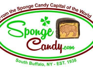 Logo Design for Sponge Candy