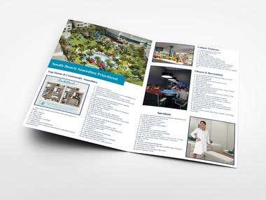 Bi-fold Brochure and Catalog Design