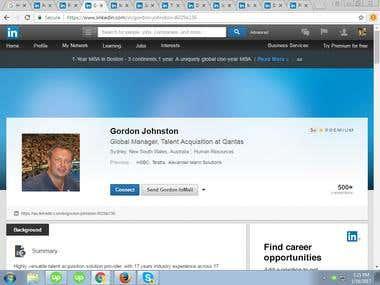 LinkedIn Information