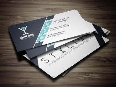 Styleish business card