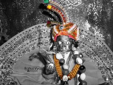 Photograph of Lord Laddu Gopal (Krishna)
