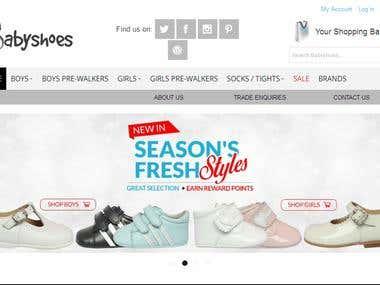 Baby Shoe Store