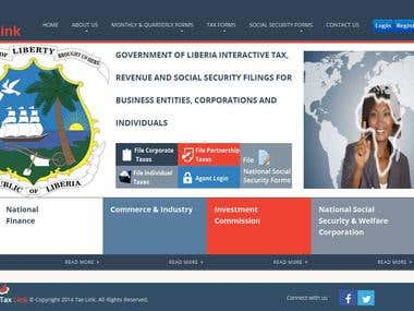 Liberia Government Website