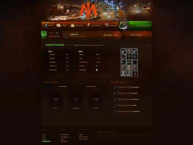 CakePHP / MMORPG Character Profiles