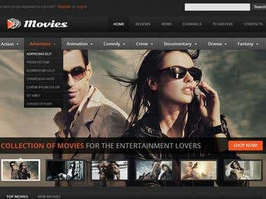 Online Movie Library