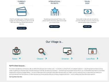 Website Design & Development of Currency Village
