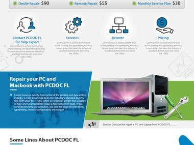 Website Design & Development of Pc Doc FL