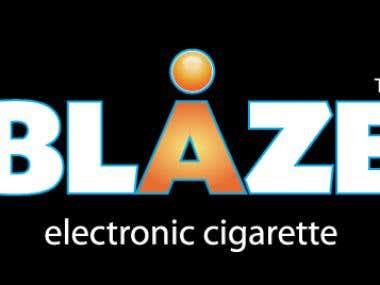 Logo Design for Blaze E Cigarettes