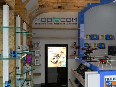 Retail store for Mobile and Electronics