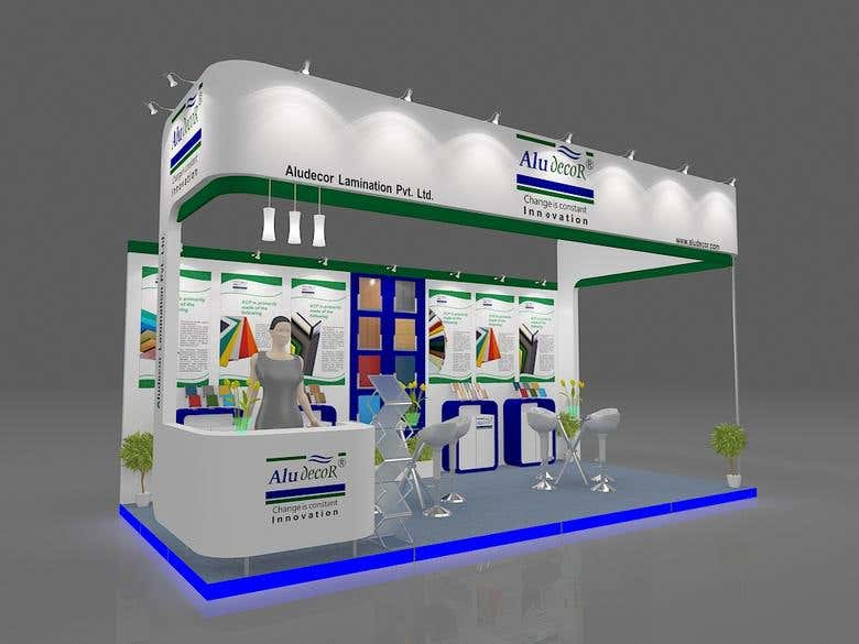 Exhibition Stall Designer Job : Exhibition stall design freelancer