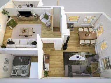 3D Floorplan!