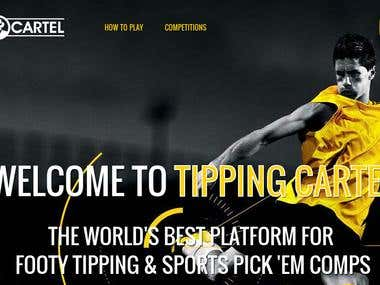 TippingCartel: Sports Tipping Website