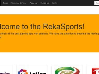 Rekasport - betting website