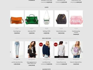 E-commerce in Woocommerce