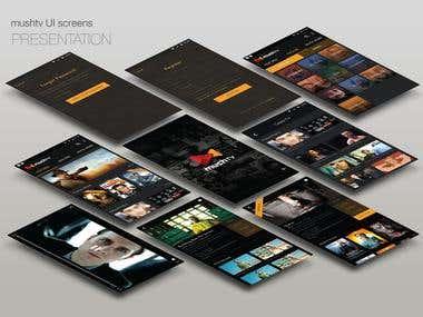 Web/Mobile App Showcase