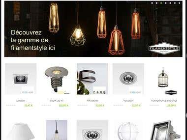 Online Prestashop Store
