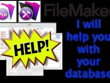 Let me help you with your Filemaker issues