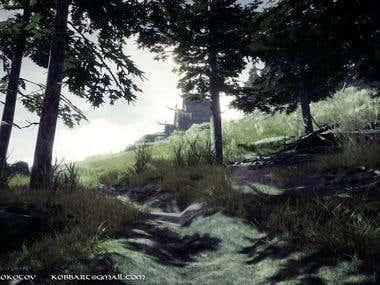 Viking House - Game environment