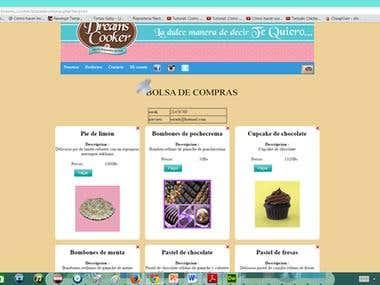 Sistema de ventas web de Dreamscooker