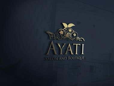 Ayati Salon Logo