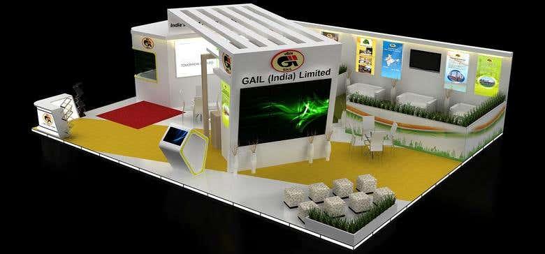 Exhibition Stand Design Portfolio : Exhibition stall design freelancer
