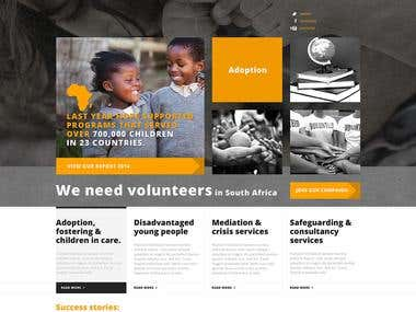 NGO Website Design & Development