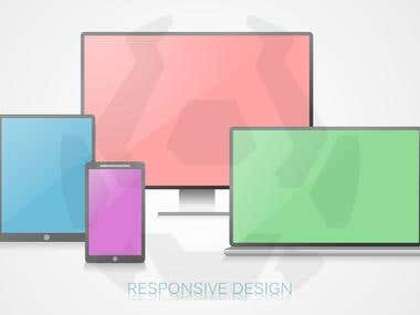 Responsive Design Mockup Presentation