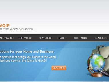 VoIP Server for GladVoIP.com