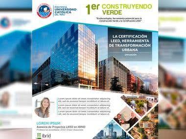 Flyer - Feria: 1er Construyendo Verde