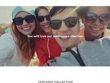 FASHIONXSHOP Shopify eCommerce Platform