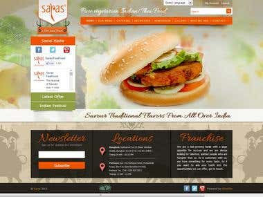 eCommerce Food Ordering Website