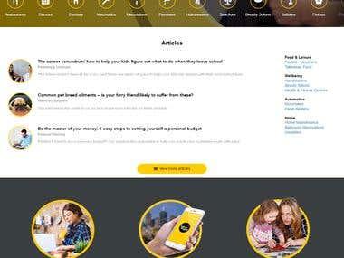 YellowPages Data Crawler & Scraper