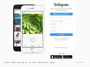 Instagram Bot to Like-Unlike Media and Follow-Unfollow Users