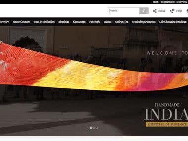 SoilofIndia - [ Magento store ]