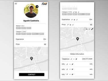 FindTech App Design