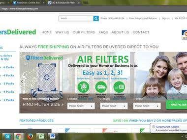 Big commerce website