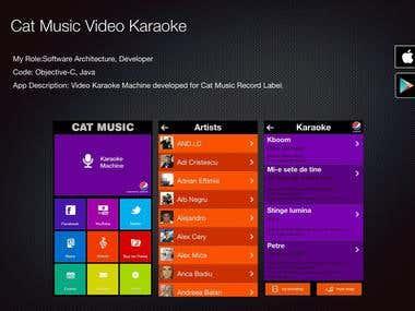 Cat Music Video Karaoke