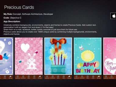 Precious Cards