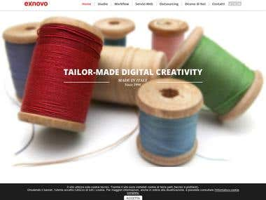 Website for tailor-made digital creativity