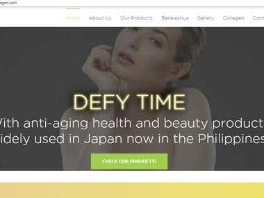 Carabella Pure Collagen E-Commerce Website