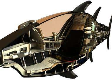 Tuna submarine