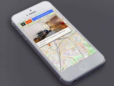 Location Based Real Estate iOS App