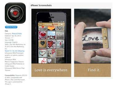 Found Love - iOS / Android App